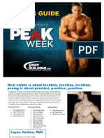 Peak Week Powerlifting