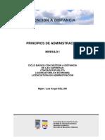 Principios Administracion Mod. I