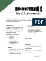 Informe de La Vitamina c