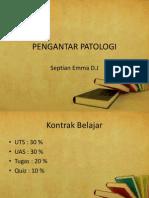 1. PENGANTAR PATOLOGI