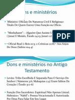 Dons e Ministerios(1)