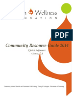 Quick Reference - MWF Community Resource Guide-Atlanta-2014