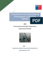 Consideraciones Especiales de Pac - Etapa Obra Versión Adaptada.