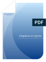 Litigation and Injunctions in Cyprus Courts