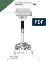 Autoset ATS6V0A Manual UK 062003