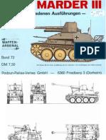 Waffen Arsenal - Band 072 - Marder III - Der Panzerjäger in den verschiedenen Ausführungen