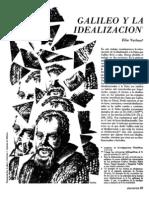 La Idealizacion de La Ciencia. Galileo