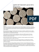 Bayer Logró El Registro de Canesoral