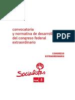 ReglamentoCongresoFedExtraordinario PSOE