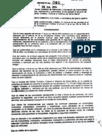 Decreto 090/2014 Prohibición circulación de motocicletas - Sábado 14 Junio