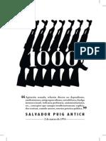 El 1000 y La OLLA. Agitación Armada, Formación Teórica y Movimiento Obrero en La España Salvaje
