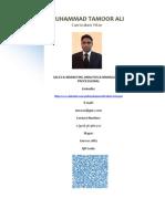 Muhammad Tamoor Ali CV Final