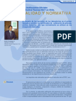 Informativo CESMEC N° 10 (Calidad y Normativa)