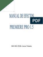 Manual de Efectos Premiere