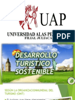 Desarrollo Turistico Sostenible Presentacion