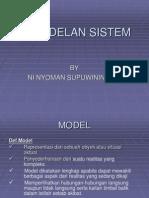 Pengantar Model Sistem