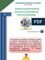 Metodos Cuantitativos y El Proceso de Toma de Decisiones
