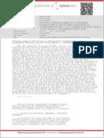 Decreto 90 Salud (2001), Norma Emisión de Contaminantes en Descargas de Residuos Liquidos a Aguas Marinas