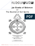 The Theurgia (Goetia of Solomon)