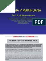 Cocaina y Marihuana