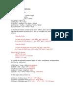 PEC140 Additional Problems STUDY BLOCK 3 Answers