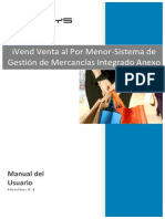 IVend Enterprise User Manual ONLY in SPANISH