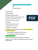 Matérias, Edital Adm-pf