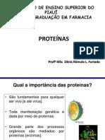 6ª Aula - Proteinas