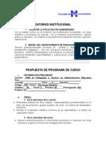 Sociologia General Programa General Pem