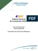 12 - Guia Sectorial Formulacion de Terminos de Referencia Final