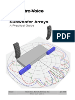 Subwoofer Arrays EV