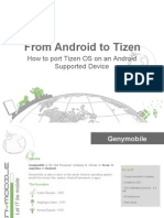 From Android to Tizen