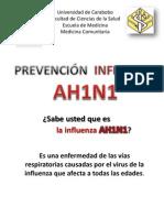 Folleto Influenza