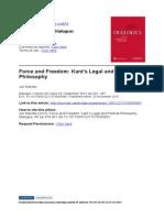 Ripstein on Kant