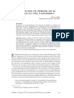 La Posicion de Herder en El Conflicto Del Panteismo (Heinz)