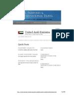 UAE Dept of State Profile