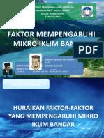 Faktor Mikro Iklim Bandar