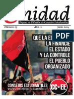 CC.EE- Boletín Unidad- Primer Semestre 2014