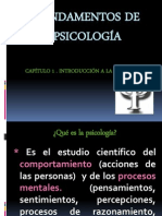 1. Fundamentos de Psicologí-A Cap. 1