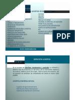 Proceso Logistico de Exportacion