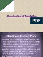 012 Abomination of Desolation