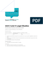 unit 3 legal studies - practice exam