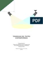 MI - Tendencia Del Teatro Contemporaneo