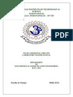 Pulse & Digital Circuits Lab Manual