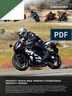 Brochure 2010 CBR600RR