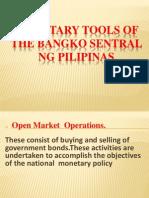 Monetary Tools of the Bangko Sentral Ng Pilipinas