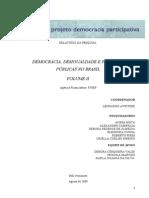 Democracia Desigualdade e Politicas Publicas No Brasil Finep