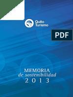 Gestion Memoria de Sostenibilidad QT 2013