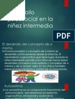 Desarrollo Psicosocial en La Niñez Intermedia