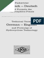 Hydrozyklon Hydrocyclones